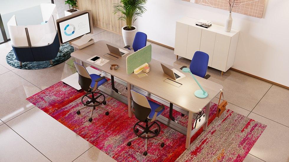 4 razlogi, zakaj je pomembno izbrati pravo pisarniško pohištvo